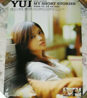 YUI My Short Stories 2008 Japan Promo Poster NEW
