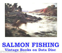 Salmon Fly Fishing Collection 23 Vintage Angling Books on Data Disc