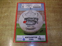1989/90 FA CUP 1ST ROUND - KETTERING TOWN v NORTHAMPTON TOWN