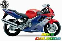 HONDA TOUCH UP PAINT 99 CBR600F RED VIOLET.