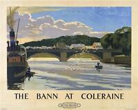 Irish Poster River Bann, North Ireland Norman Wilkinson