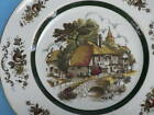 WOOD & SONS Enoch DINNER PLATE ASCOT VILLAGE cottage
