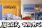 PERSONALISED GRAFFITI NAME - Wall art sticker,decal
