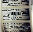 WARRANTY PROTECTION VOID SECURITY LABELS SEALS X 100