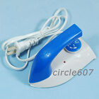 Blue MINI Travel Equipment Travelling Electric Iron New