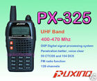 PUXING PX-325 UHF 400~470Mhz radio & earpiece + programming cable