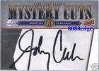 """2008 MYSTERY CUTS AUTO: JOHNNY CASH #1/1 OF ONE AUTOGRAPH CARD """"MAN IN BLACK"""""""