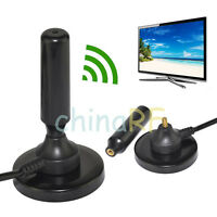 15dBi ANTENNA DVB T Magnetic Aerial for Freeview TV Indoor Car
