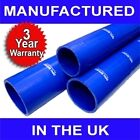 """45mm 1 3/4"""" SILICONE HOSE 1 METRE STRAIGHT PIPE BLUE M"""