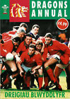 DRAGONS ANNUAL RUGBY BOOK 1992 PUBLISHED by RUGBY VISION