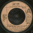 "ANDY GIBB our love don't throw it all away uk 7"" WS EX/ 05"