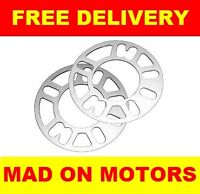 7mm ALLOY WHEEL SPACERS SHIMS LAND ROVER DISCOVERY