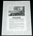 1919 OLD MAGAZINE PRINT AD, PAIGE AUTOMOBILE, THE MOST BEAUTIFUL CAR IN AMERICA!