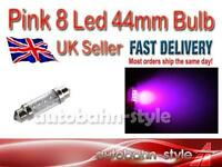 PINK 8 LED INTERIOR 44mm FESTOON BULB BMW E36 325 328 M3 COUPE