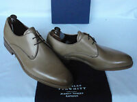NEW Charles Tyrwhitt Biscuit Calf Leather Derby Style Lace Up Shoes UK 8.5 F