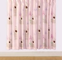 "Boofle Spring 66 X 72"" Drop Curtains Pair Bed Room Decor Matches Duvet Gift New"