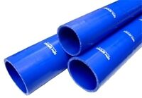 """45mm 1 3/4"""" SILICONE HOSE 300MM 12"""" STRAIGHT JOINER CONNECTOR BLUE 0.33 METRE"""