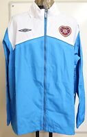 HEARTS 09/10 FUSION TRAINING SHOWER JACKET UMBRO ADULTS SIZE XXL BRAND NEW