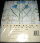 EXCELL BLUE/YELLOW POPPIES EVA SHOWER CURTAIN NEW