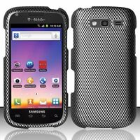 For T-Mobile Samsung Galaxy S BLAZE 4G Hard Snap Phone Case Cover Carbon Fiber
