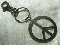 A Large Silver CND Peace Sign Charm ( 40mm), Keyring, Handbag / School Bag,Pagan