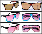 New Madness Wayfarer Sunglasses Retro Black Tort Blue Pink etc UV400 Mens Womens