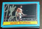 Jake The Snake Roberts Signed Auto'd 1987 Topps WWE Rookie Card RC WWF Autograph