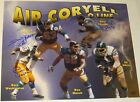 Chargers Air Coryell O-Line Signed 16x20 Photo PSA/DNA