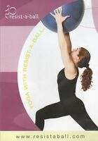 YOGA WITH RESIST-A-BALL STABILITY BALL WORKOUT DVD RESISTABALL NEW SEALED