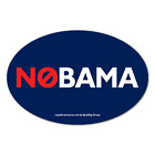 NOBAMA Oval Bumper Sticker Decal 2012 GOP anti-obama no obama romney