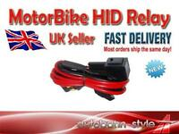 CAR OR MOTOR BIKE XENON HID KIT WIRE HID RELAY 40A LOOM UK SELLER FAST DISPATCH