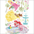 Disney Princess & Garden Removable Wall Art Decor Sticker Girl Kids Nursery Room