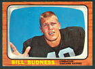 1966 TOPPS FOOTBALL 105 BILL BUDNESS L A LOS ANGELES OAKLAND RAIDERS