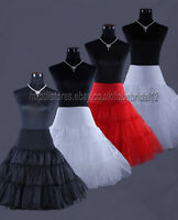 "27"" 50s Retro Underskirt Swing Vintage Petticoat Fancy Net Skirt Rockabilly Tutu"