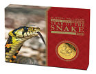 2013 Perth Mint Lunar Series 1oz gold coin proof - Snake
