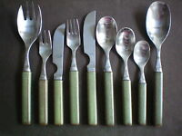 Denby Touchstone Onyx Marbled Green Individual Cutlery Pieces