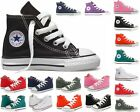 Infants Boys Girls Converse CT All Star Hi Canvas Trainers 10 Colours UK 2 - 10