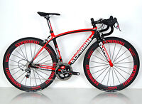 STRADALLI NAPOLI SRAM RED 22 11 SPEED FULL CARBON ROAD RACE BICYCLE BB30 L 56CM