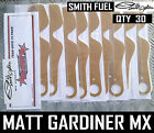 30 qty TEAR OFFS to fit SMITH FUEL MOTOCROSS MX ENDURO GOGGLES FLIPPERS new