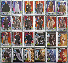 Star Wars Force Attax Choose One Movie 2 Card (Part 5/11, #110 - 133)