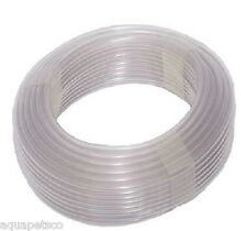 SILICONE AIRLINE TUBING 5M 10M 20M 100M POND AQUARIUM AIR PUMP TUBE HOSE PIPE