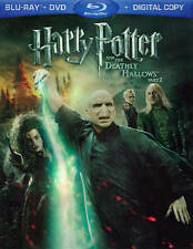 Harry Potter and the Deathly Hallows: Part II (Blu-ray/DVD, 2011, 3-Disc Set,...