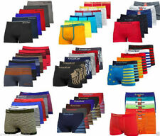 3, 6, 12 Mens Seamless Boxer Briefs Shorts Knocker Lot New Microfiber One Size