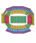2 or 4 Philadelphia Eagles vs Chicago Bears Tickets 12/22/13 LL center end zone