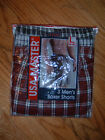 USA MASTERS 3-PACK MEN'S BOXER SHORTS - NEW/PACKAGED