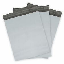 Poly Mailing Envelopes (Plastic Mailers) White Shipping Bags 1000, 500, 250+more