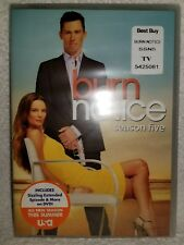 Burn Notice: Season Five (DVD, 2012, 4-Disc Set) Brand New