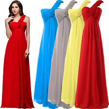 2015 STOCK Prom Dresses Bridesmaid Wedding Dress Formal Party Evening Ball Gown