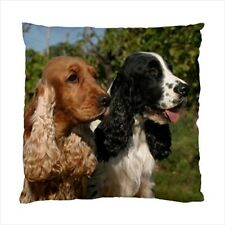 English Cocker Spaniel Dog -Throw Pillow Case or Cushion Case - Pq4382