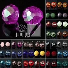 72pcs Faceted Loose 6.5x8mm Rondelle Crystal Czech Glass Spacer Beads 5040